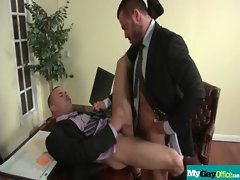 The Gay Office - Gay Backdoor Sex &amp_ Phallus Massage Videos 28