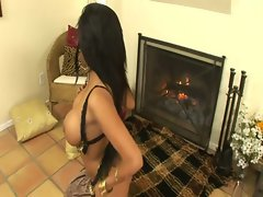 Attractive Priya Rai On Fire (HD)