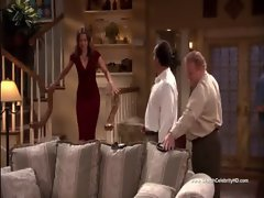 Kimberly Williams-Paisley Huge Cleavage - According to Jim S02E07