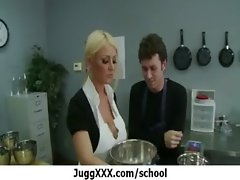 Horny buxom school teacher shagging 32