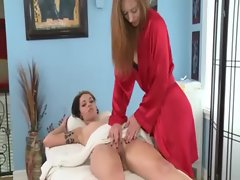 Watch lesbo muff fingered and eaten