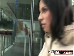Cum Hunters Renata Black, Anus Dark haired One on One Outdoors Public European