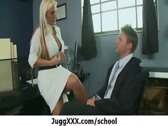 Large melons teacher banged in school 18