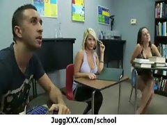 Large melons teacher banged in school 25