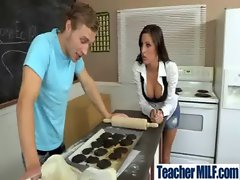 Alluring Big melons Vixen Get Wild Screwed In School video-24