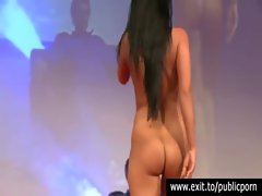 Milena toyed in Public by a stranger