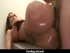 Extremely big cock in big humid bum - Asshole Sex 44