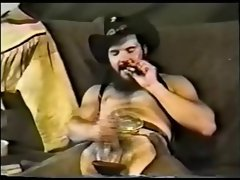 Lewd Smoking Cowboy in Mad West (Vintage)