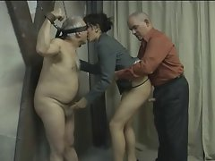 2 Aged Men Fuck a Tempting Babe
