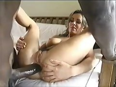 Amature Better half Cuckolds Husband With Large dark shaft