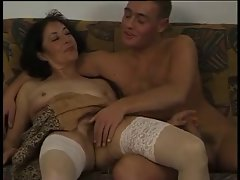 German Seductive mom and Lad