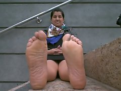 Fatty Seductive indian SOLE DREAM