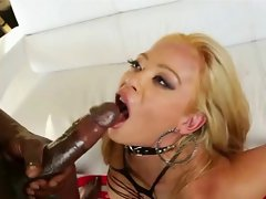 Mia Lelani gets huge facial from BBC