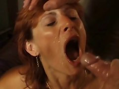 Experienced redhead married woman