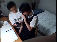 School Student Lady Tempting Obscene Episode