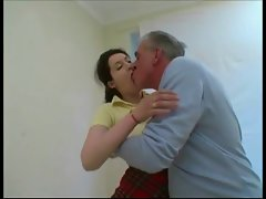 Extremely large dick Daddy With Younger Young woman BVR