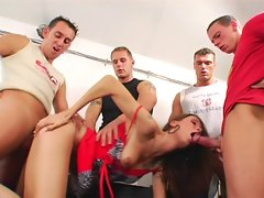 czech gangbang party pt.1