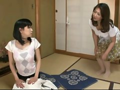 Sensual japanese Lesbos (It was fun teaching my daughter in law)
