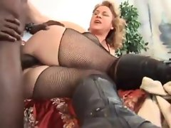 attractive mature in boots is hooked on BBC