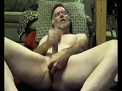 College professor dad fingers his butt on cam