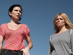 Casey Wilson and June Diane Raphael show their bum