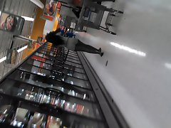 Sexual Ebony Naughty bum at Walmart by me