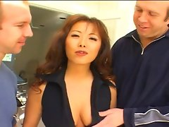 Filthy Asian Mommy (Anal Threesome)