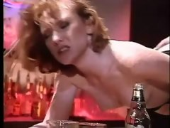 Freckled Redhead Flame Banged On The Bar