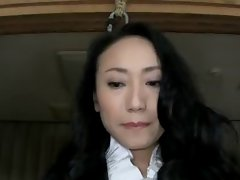 SM Play - Seductive japanese MILF- Wax & Vibrating sex toys