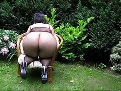 BIG Naughty bum GRA-MILF