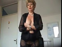 Teasing Mother in Nylons
