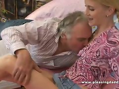 Raunchy Older Professor Fuck Nympho With Teensy Knockers