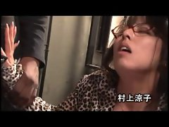 seductive japanese mamma goes black1