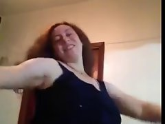 Filthy Arabian egyptian Thick Cougar Sensual Dance 1