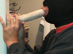 Deepthroating my brand new toy