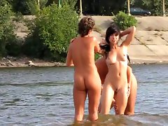 Nudists friends in Kiev