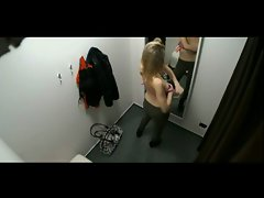 Saucy teen Caught by Spycam in Changing Room BVR