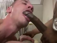 2 Ebony Penises Seed 1 Happy White Dirty ass