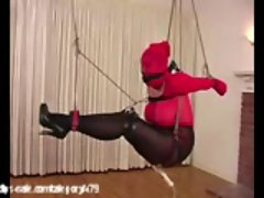 Attractive Suspension Bondage at Clips4sale.com