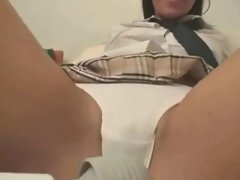 Gaunt Latina Schoolgirl receives it all on her tongue ctoan