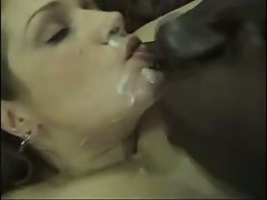 Cuckold dirty wife gets CIM