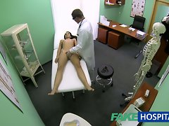 FakeHospital Bony bony 19yo student cums in for check up