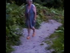 Attractive mature Amy from East Anglia Nude in the Woods