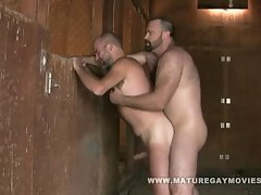 Bushy Muscular Bears Fuck In The Barn