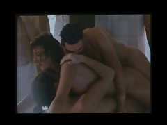 Emmanuelle 7 triplet episode (group sex)