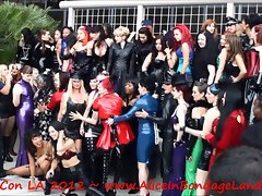 DomCon Dominatrix Convention Photoshoot Mistress FemDom 2012