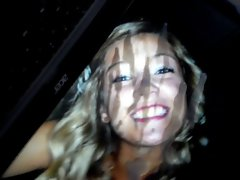 Extremely huge cumtribute on teenager