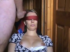 Housewifes humiliated and accept a cumshot