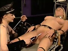 Light-haired wench prisoner - BDSM