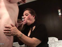 Attractive mature couple banging and getting filthy